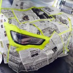 Audi S5 (B8系) ヘッドライトスモークペイント
